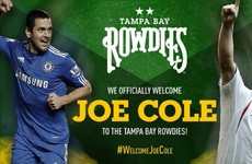 'I'm not coming for an extended holiday,' says Joe Cole as he jets off to play in America