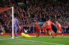 Perfect start for Liverpool with an early goal in Europa League semi-final