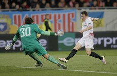 Gameiro double sets Sevilla sights on Europa League hat-trick