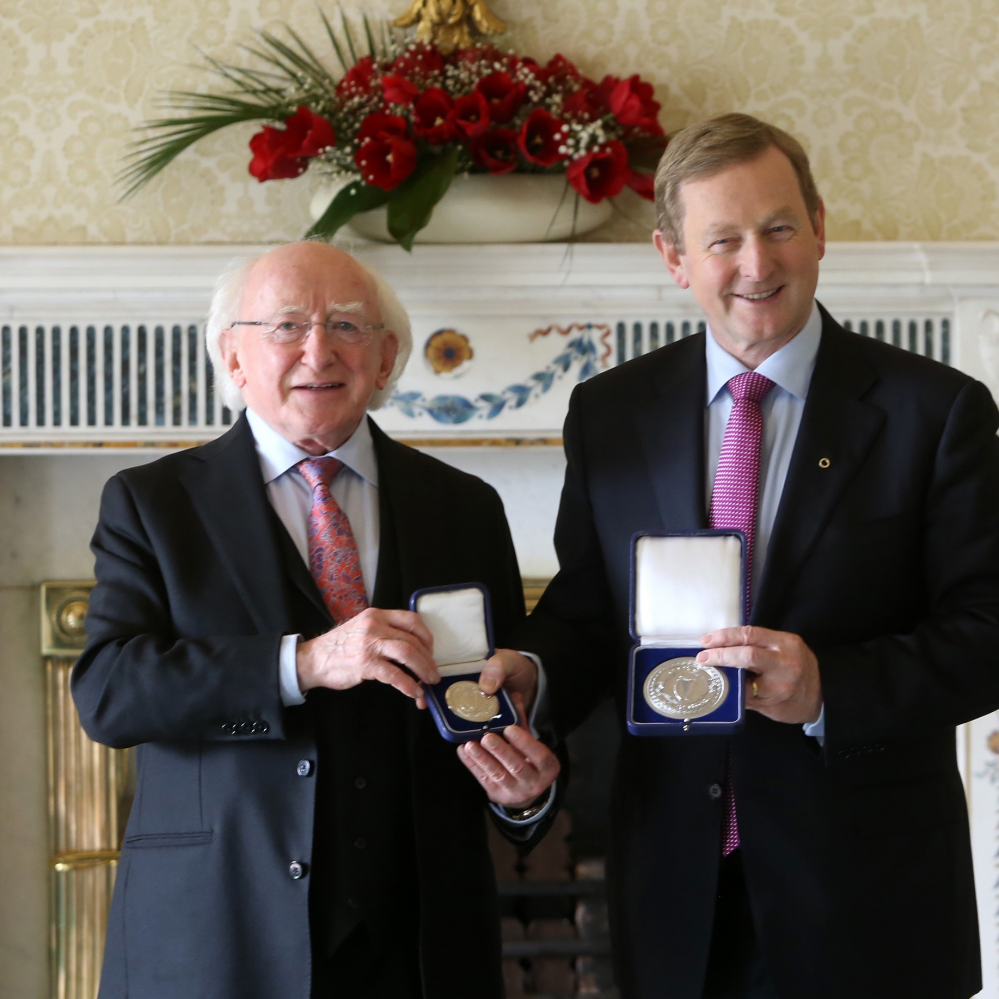 After 70 days, Enda Kenny has been re-elected Taoiseach