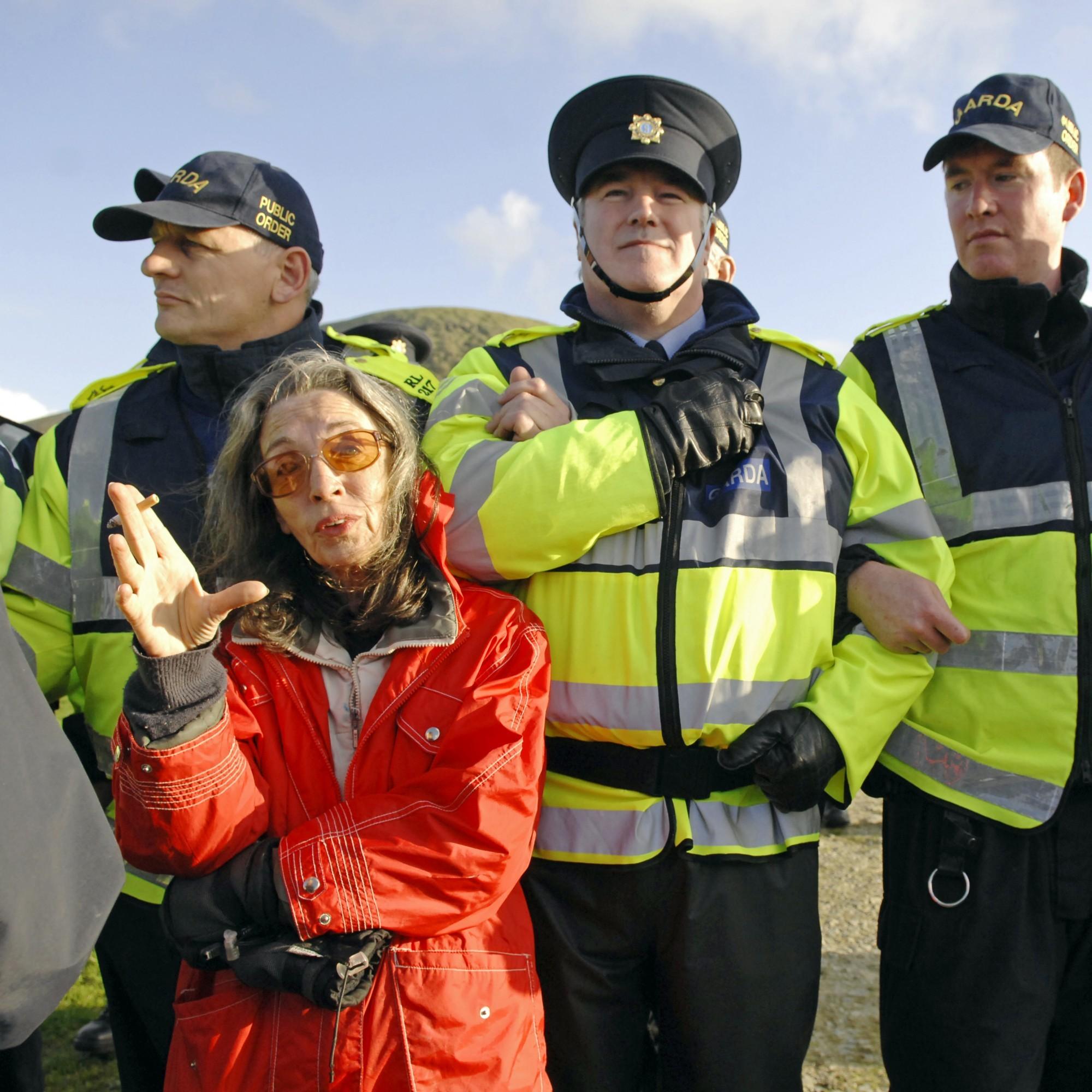 Shell to Sea activist Maura Harrington arrested in Mayo