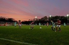Red sky and red faces as Pat's succumb to 5th league defeat of the season against Derry