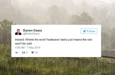 8 of the most sarcastic responses to Ireland's heatwave this weekend