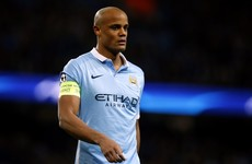 Big blow for Ireland opponents Belgium as Kompany ruled out of Euros