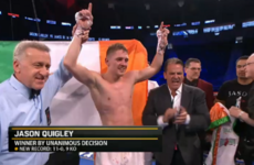 Jason Quigley proves he can go the distance with unanimous points win in Vegas