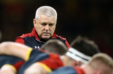 Halfpenny still absent as Gatland names Wales squad for tour of New Zealand