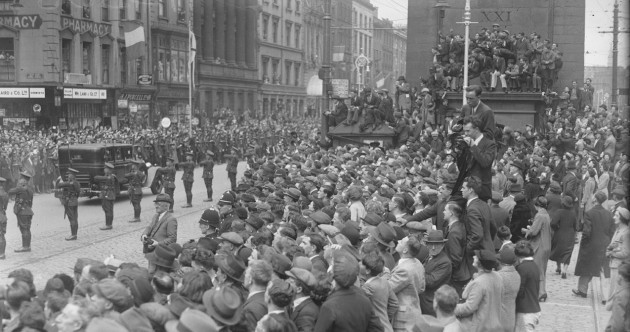 GALLERY: Inauguration of Ireland's first poet-President… in 1938