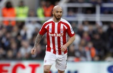 Bad news for Stephen Ireland as he suffers broken leg at training with Stoke