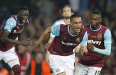 Man United's Champions League hopes in tatters as West Ham sign off at Upton Park with victory