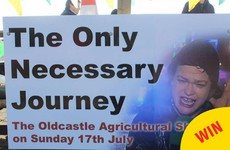 Look at this excellent sign for the Oldcastle Agricultural Show