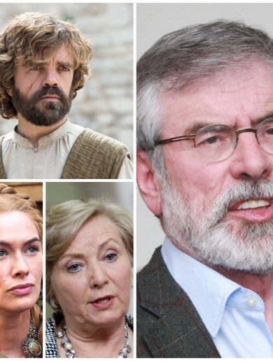 Who's who in the Irish political version of Game of Thrones?