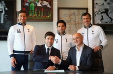 Thanks for the lunch, Fergie! Pochettino signs new deal to stay at Spurs