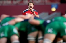 Nottingham announce signing of 21-year-old out-half from Munster