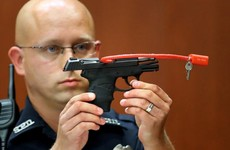 Website stops George Zimmerman selling the gun he killed Trayvon Martin with