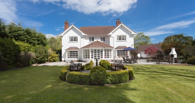 There are lots of interesting bespoke features to this Foxrock home