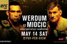 Will there be a new heavyweight champ when the UFC holds its best card of the year?
