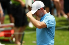 McIlroy curses final hole after hunting course record