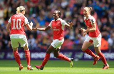 Delight for Irish pair as Arsenal take FA Cup in front of record-breaking Wembley crowd