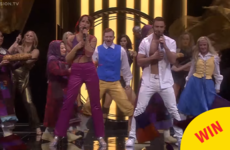 Last night's Eurovision interval act hilariously took the piss out of the whole competiton