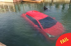This woman followed her car's GPS straight into a lake