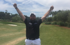 The happiest man in Sawgrass! Shane Lowry enjoyed Offaly's win more than anyone