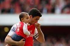 Mikel Arteta breaks down in tears as he says goodbye to Arsenal