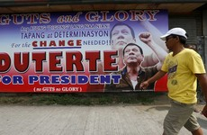The new President of the Philippines says he will hang criminals and let snipers shoot to kill