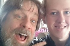 Mark Hamill showed up to have breakfast with a Derry teen cancer survivor