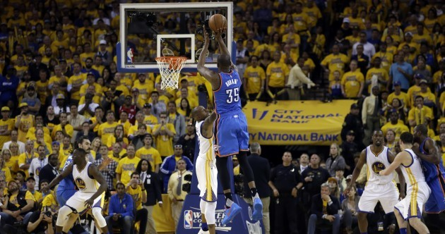 This is gonna be great! Thunder beat Golden State on the road in thrilling Game 1