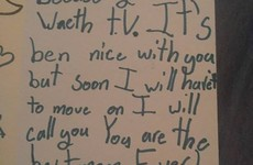 A little girl wrote her mam a fairly devastating break-up letter