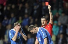 Estonia coach refuses to blame referee… sort of