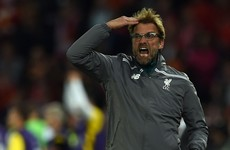 Liverpool 'lost faith', laments Klopp
