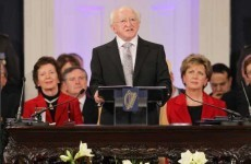 President Higgins to have a quiet first day