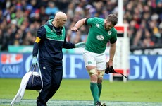 Sean O'Brien set for surgery and facing 'considerable period' on the sidelines