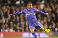 Van der Vaart suffers more hamstring woe while playing for Holland