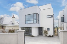 This very modern home in Clontarf has just come on the market