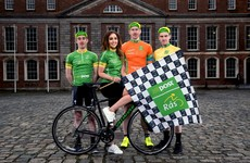 Rás gets underway at Dublin Castle to mark 100th anniversary of the Easter Rising