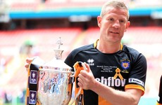 He's had four heart operations but 45-year-old Chris Swailes just scored in a Wembley final