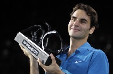 Federer in love with Paris after claiming Masters title