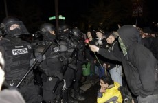 Dozens of Occupy protesters arrested as movement defies eviction