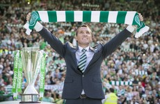 There was an incredible welcome for Brendan Rodgers at Celtic Park earlier today