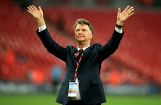 It's official: Louis van Gaal has been sacked by Manchester United