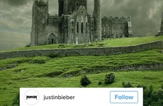 Justin Bieber posted a photo of the Rock of Cashel and nobody knows why