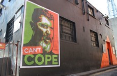 This gas Roy Keane mural has been unveiled in Dublin in time for the Euros