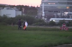 Two peace activists arrested on runway at Shannon Airport