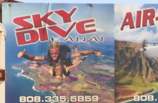 Irishman dies in Hawaii skydiving crash