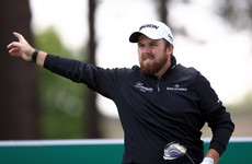 A cart path very nearly derailed Shane Lowry's opening round at Wentworth