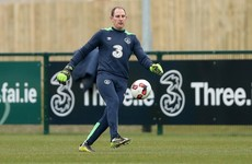 Dundalk goalkeeper Gary Rogers 'a possibility' to feature for Ireland tomorrow night