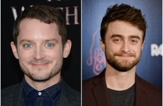 This gif of Elijah Wood transforming into Daniel Radcliffe is totally mesmerising