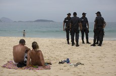Gunmen run wild in Rio tourist spots ahead of Olympics